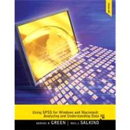Using SPSS for Windows and Macintosh : Analyzing and Underst..., 9780205020409  