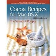 Cocoa Recipes for Mac OS X, 9780321670410  