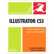 Illustrator CS3 for Windows and Macintosh : Visual QuickStar..., 9780321510457