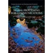 Signal Processing for Communications, 9781420070460