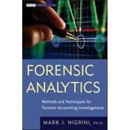 Forensic Analytics : Methods and Techniques for Forensic Acc..., 9780470890462  