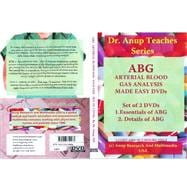 Essentials and Details of ABG: Abg, Arterial Blood, Gas Anal..., 9781603350464  