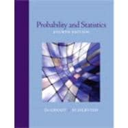 Probability and Statistics,9780321500465