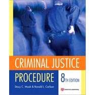 Criminal Justice Procedure,9781455730483