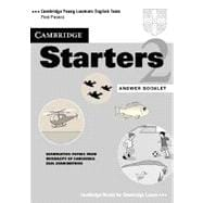 Cambridge Starters 2 Answer Booklet: Examination Papers from the University of Cambridge Local Examinations Syndicate
