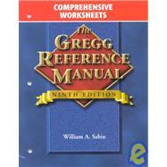 Gregg Reference Manual, Comprehensive Worksheets,9780028040509