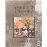 American History: A Survey, Volume 1 MP w/Powerweb,9780072490510