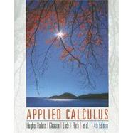 Applied Calculus, 4th Edition,9780470170526