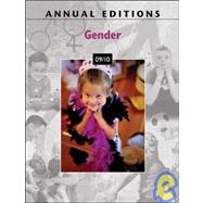 Annual Editions: Gender 10/11,9780078050527