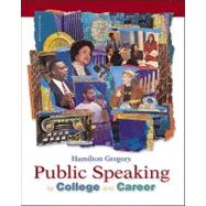 Public Speaking for College and Career,9780072400533