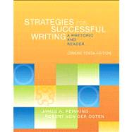 Strategies for Successful Writing, Concise Edition A Rhetoric and Reader with MyWritingLab Access Code Card