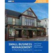 *Acp Pkg Small Business Management: A Planning Approach,9781426630569