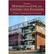 Materials for Civil and Construction Engineers,9780136110583