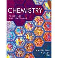 Study Guide and Workbook for Masterton/Hurley's Chemistry: Principles and Reactions, 7th