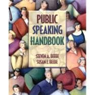 Public Speaking Handbook,9780205420599