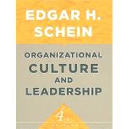 Organizational Culture and Leadership, 9780470190609  
