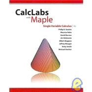 CalcLabs With Maple Single Variable Calculus