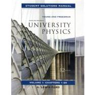 Student Solutions Manual for University Physics Vol 1