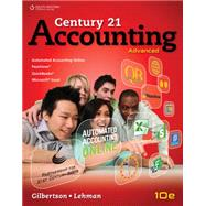 Century 21 Accounting Advanced,9781111990640