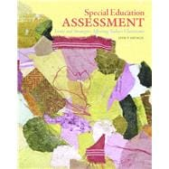 Special Education Assessment : Issues and Strategies Affecting Today's Classrooms,9780131700642
