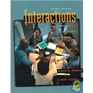 Interactions : Collaboration Skills for School Professionals,9780801330650