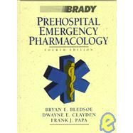 PREHOSPITAL EMERGENCY PHARMACOLOGY, 4TH ED