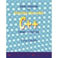 Brief Version of Starting Out With C++