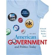 American Government and Politics Today 2011-2012 Edition,9780495910664