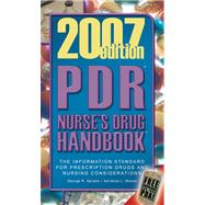 PDR Nurse's Drug Handbook 2007