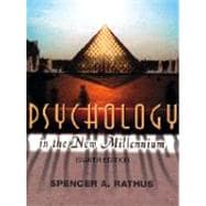 Psychology in the New Millennium,9780155060678
