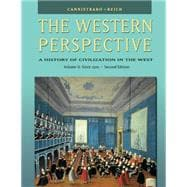 The Western Perspective Since the Middle Ages, Volume 2 (with InfoTrac),9780534610678