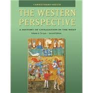 The Western Perspective Prehistory to the Renaissance, Volume A: To 1500 (with InfoTrac),9780534610692