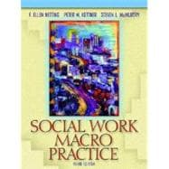 Social Work Macro Practice,9780205380695