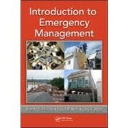 Introduction to Emergency Management, 9781439830703  