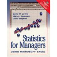 Statistics for Managers Using Microsoft Excel With 3.5 Disk