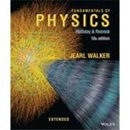 Fundamentals of Physics Extended, Tenth Edition