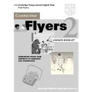 Cambridge Flyers 2 Answer Booklet: Examination Papers from the University of Cambridge Local Examinations Syndicate