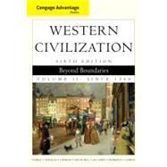 Cengage Advantage Books: Western Civilization Beyond Boundaries, Volume II