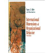 International Dimensions Of Organizational Behavior,9780324360745
