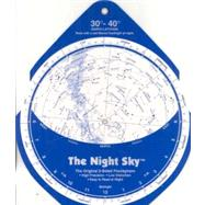 The Night Sky 30 degrees - 40 degrees: Large; North Latitude, 9780961320751  