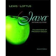 Java Software Solutions Foundations of Program Design plus M..., 9780132760775