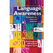 Language Awareness Readings for College Writers,9781457610783