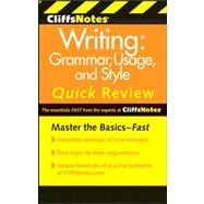 CliffsNotes Writing : Grammar, Usage, and Style Quick Review, 9780470880784