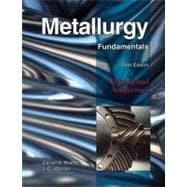 Metallurgy Fundamentals: Ferrous and Nonferrous,9781605250793