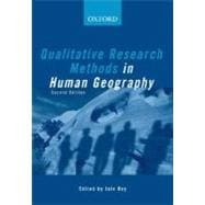 Qualitative Research Methods In Human Geography,9780195550795