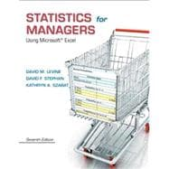 Statistics for Managers Using Microsoft Excel Plus MyStatLab -- Access Card Package
