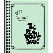 Real Vocal Book Vol. 1 : High Voice, 9780634060809
