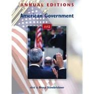 Annual Editions: American Government 11/12