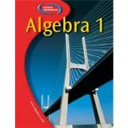 Glencoe Algebra 1, Student Edition