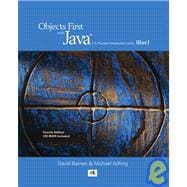 Objects First with Java : A Practical Introduction Using BlueJ,9780136060864